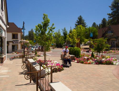 Big Bear Village Streetscape Plan