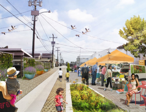Oxnard Green Alleys Plan