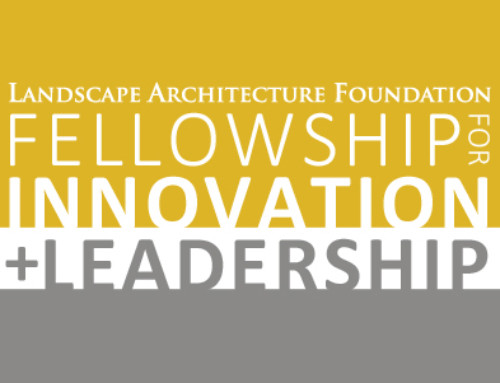 Landscape Architecture Foundation Fellowship in Innovation and Leadership