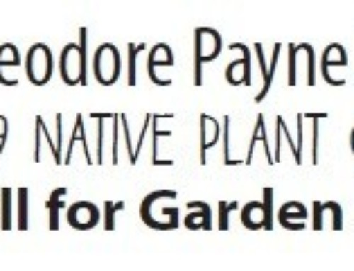 2019 Native Plant Garden Tour