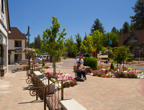 Big Bear Village Streetscape Plan