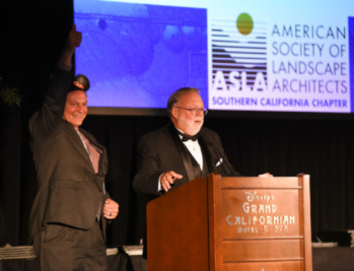 ASLA National President Attends Southern California Awards